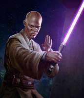 Mace Windu Lightsaber (Star Wars)