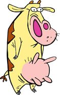 Cow from Cow and Chicken