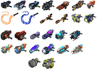 Ractchet and Clank Gadgetron Weapons 2