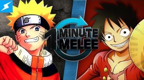 One Minute Melee - Naruto Vs Luffy