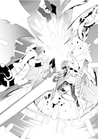 Ayato Amagiri Unleases the final seal
