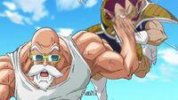 Master Roshi strength