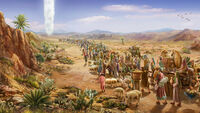 God's Cloud Pillar