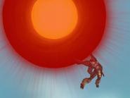BlackWarGreymon Using Dark Gaia Force