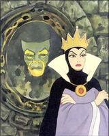 Evil Queen (Snow White) Catoptromancy
