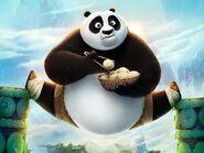 Po (Kung Fu Panda) eating