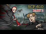 SCP-610 The Flesh that Hates - Part 2 (SCP Animation)