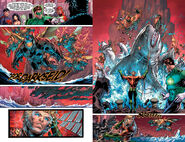 Aquaman's Aquatic Life Communication and Summoning