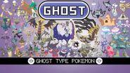 Ghost type Pokemon
