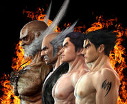 Mishima Family Tekken