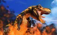 Black T-Rex 1