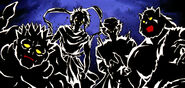 The Four Saint Beasts Yu Yu Hakusho