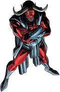 Trigon (DC Comics) pose