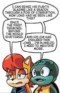 Bunker's chi Sense (Archie's Sonic the Hedgehog)