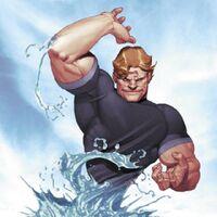 Hydro-man splash