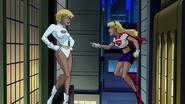 Supergirl and Galatea