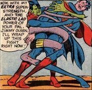 Composite Superman's (DC Comics) Elasticty