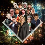 Doctor Who 14 incarnations