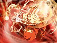 Fujiwara no Mokou (Touhou Project) red