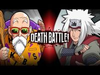 Roshi VS Jiraiya (Dragon Ball VS Naruto) - DEATH BATTLE!