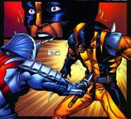 Silver Samurai vs Wolverine