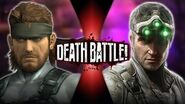 Solid Snake VS Sam Fisher (Metal Gear VS Splinter Cell) DEATH BATTLE!