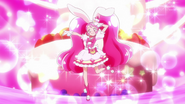 Cure Whip Pose Sparkles