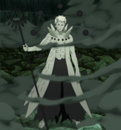 Obito as the Ten-Tails' Jinchuriki