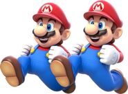 Replicated Mario Double Cherry side-effects