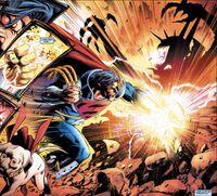 Superboy Prime vs Darkest Knight