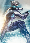 Pietro Maximoff Quicksilver (Marvel Comics) (Earth-616) from Avengers Millennium Vol 1 1 001