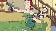 American dad Roger Shootout