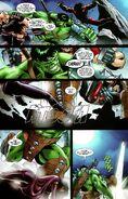 Megaton Kick by Hulk