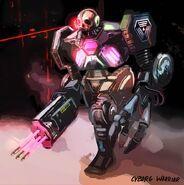System Shock Cyborg Warrior