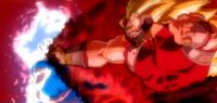 UI Goku vs SS3 Cunber