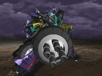 Megatron Machine Gun