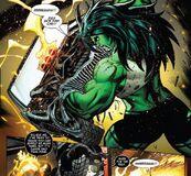 She Hulk wrecks Ghost Rider's car