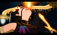 Cinder fall