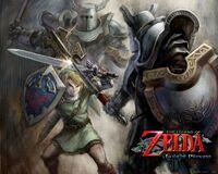 Link vs Armos