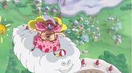 Big Mom riding on Zeus