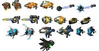 Ractchet Deadlock Weapons