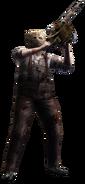 Chainsaw Man Resident Evil 4