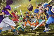 Dragon Quest heroes (SSBU)