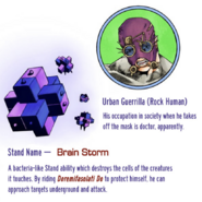 Urban Guerrilla (JoJolion) Brain Storm