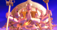 Chakravartin Confronting Asura In The Event Horizon