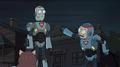 Combat suits Rick Morty
