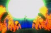 Starfire's extreme starbolt blast