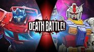 Optimus Prime VS Gundam (Transformers VS Gundam) DEATH BATTLE!