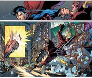 Powerful Touch By Superman
