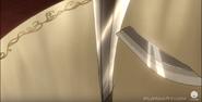 Sacred sword undamaged